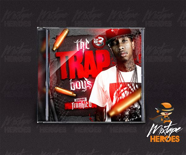 trapboys mixtape cover free psd photoshop mixtape cover template