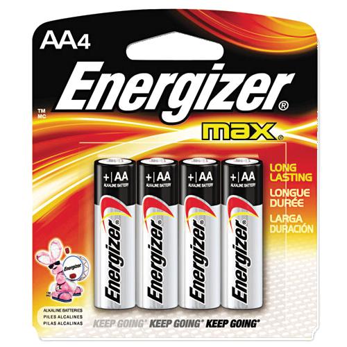 Double Aa 4 Pack Energizer Batteries Energizer Battery Energizer Alkaline Battery