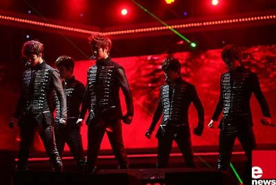Male Idols at Dream Concert #kpop #mnet