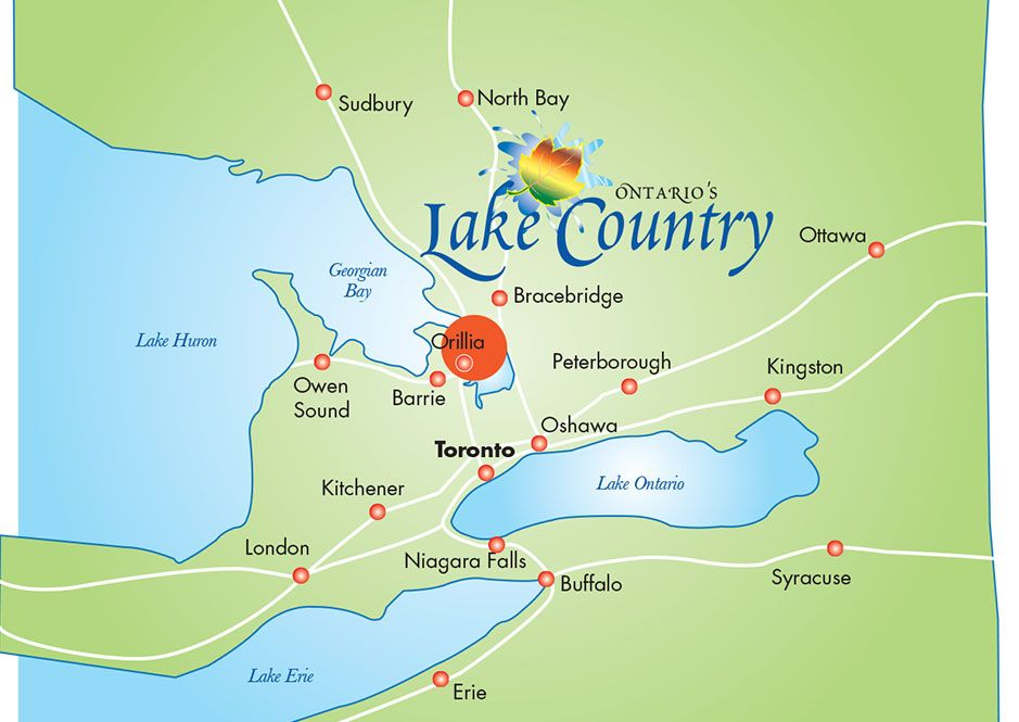 Oro Medonte Canada Map Pin on OLC on Pinterest