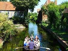 Picture Of The River Stour England Canterbury England Tourist Attraction