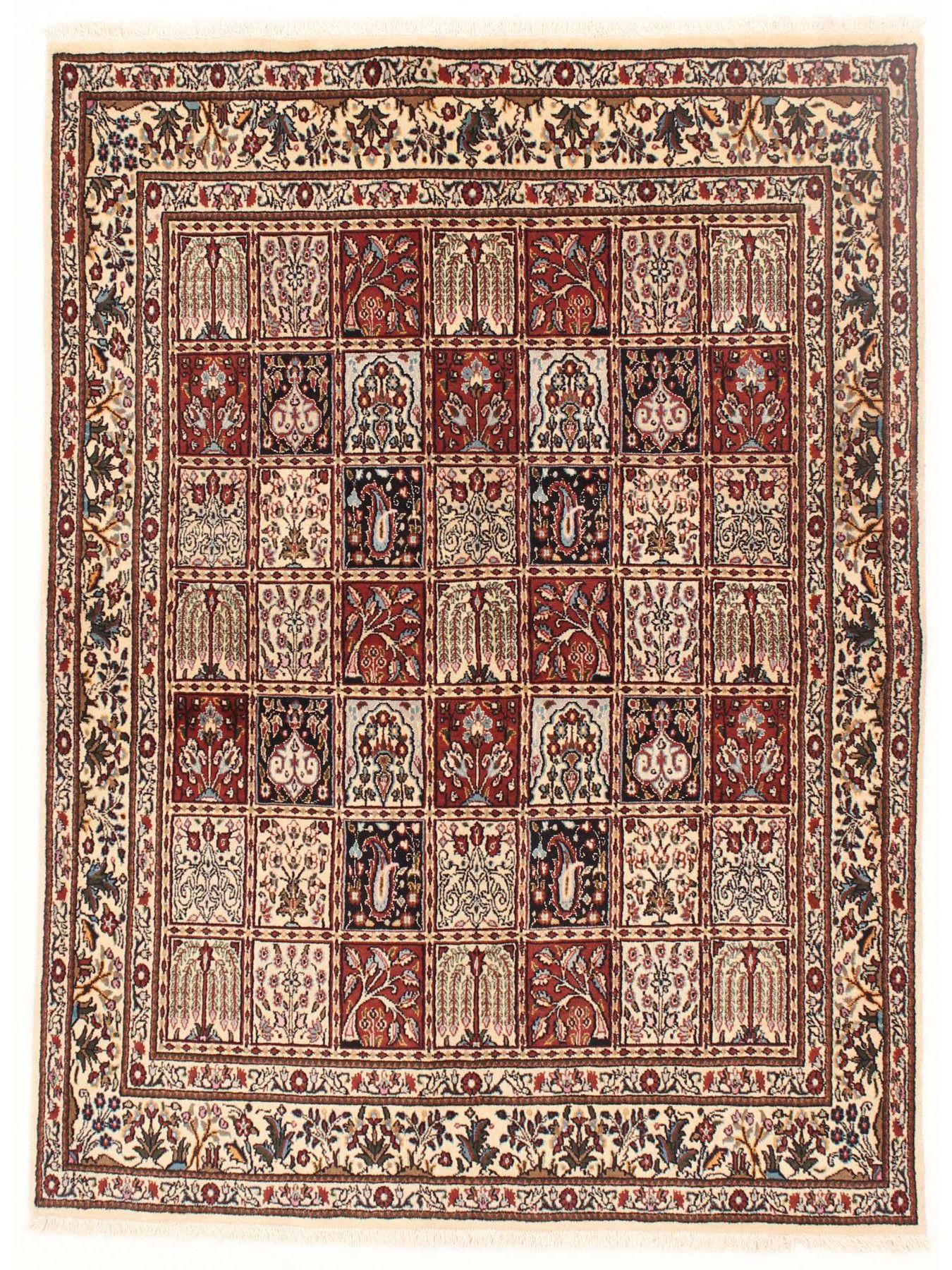 Tapis persans - Moud Jardin  Dimensions:193x143cm
