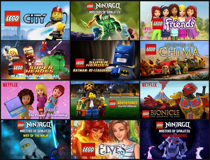 LEGO Shows and Movies on Netflix   StreamTeam   Music  Movies     LEGO Shows and Movies on Netflix   StreamTeam