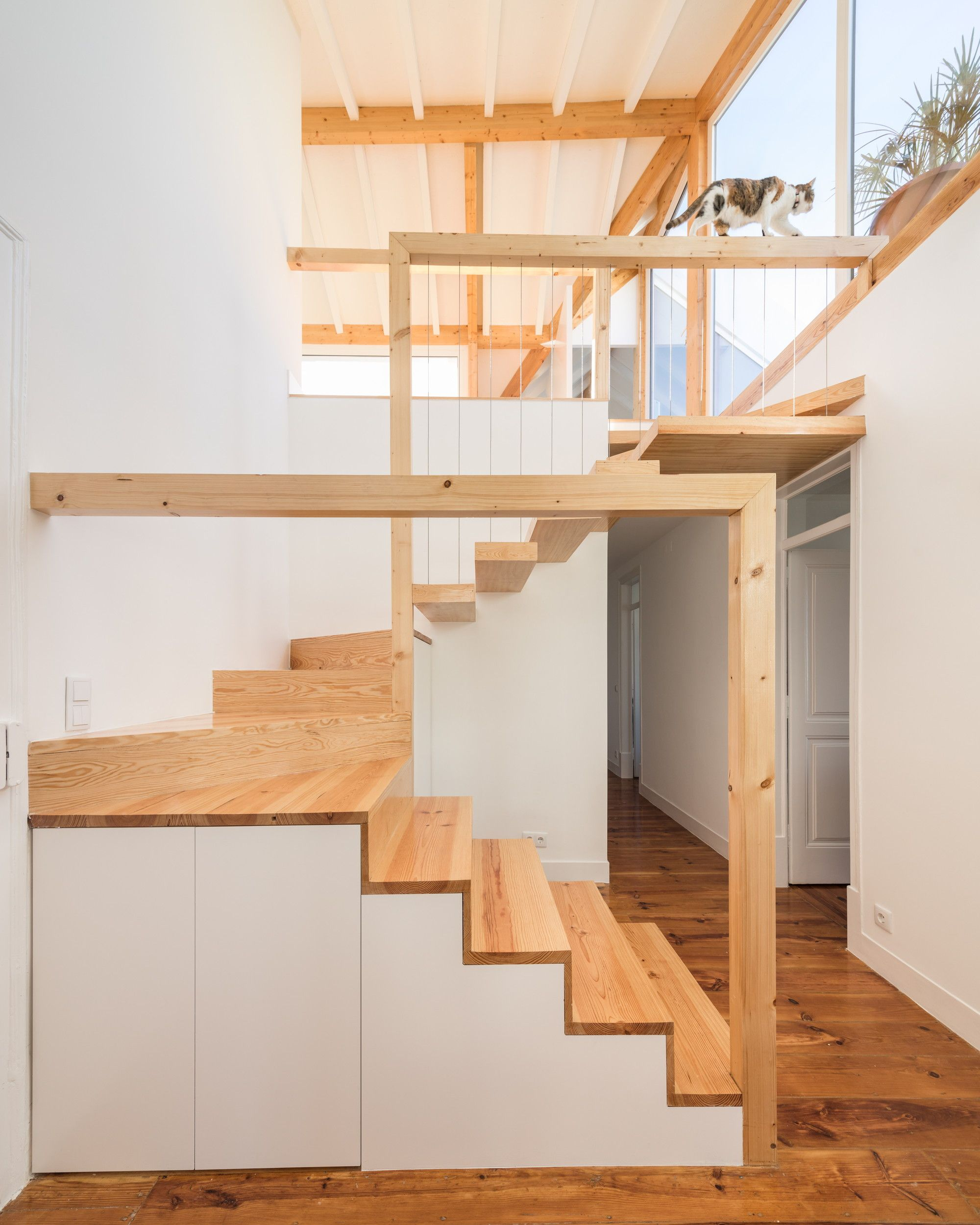 Painted Basement Stairs Ideas: Gallery Of CT 37 / BOOST Studio - 25