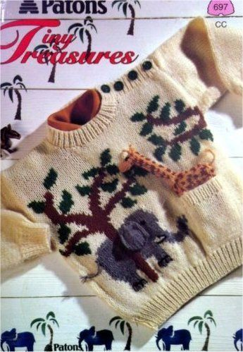 Patons Tiny Treasures Sweater Knitting Pattern Patons Astra Books