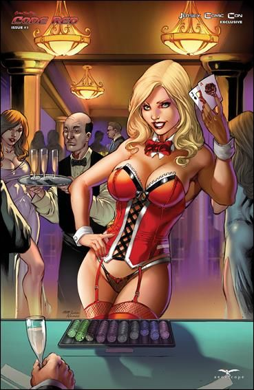 Zenescope Nude Covers  Grimm Fairy Tales Presents Code Red 1-F By Zenescope Entertainment -7925