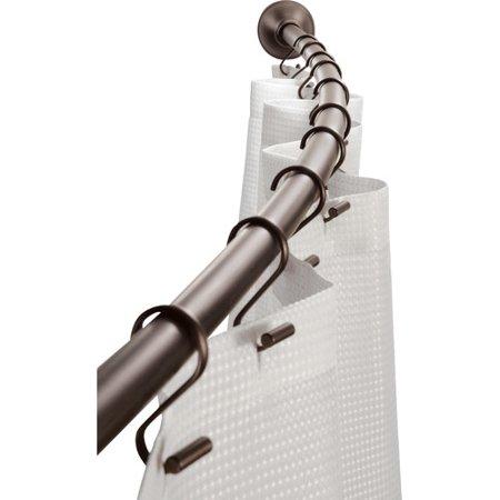 Interdesign Curved Shower Curtain Rod Bronze Products Shower