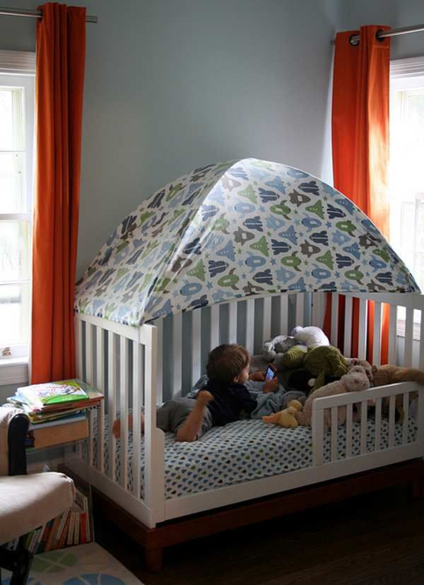 Charming Toddler Bed Tent Part - 2: Pinterest