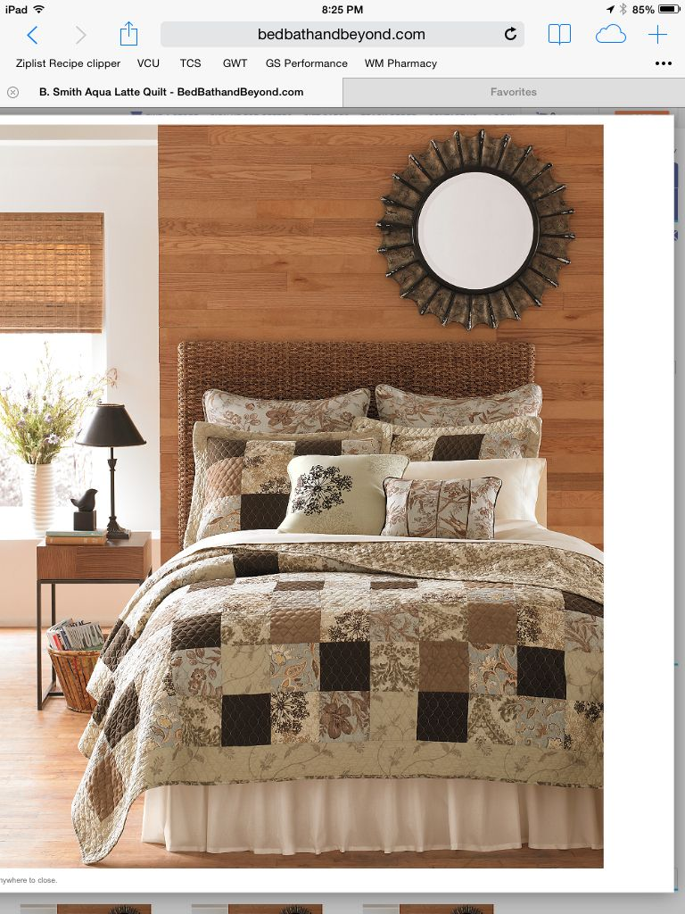 B Smith Aqua Latte Bed Bath Beyond Bedrooms Pinterest