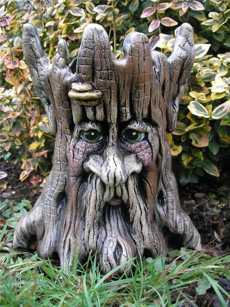 Ash Tree Ent Planter Trolls Gnomes Garden Lord Ring