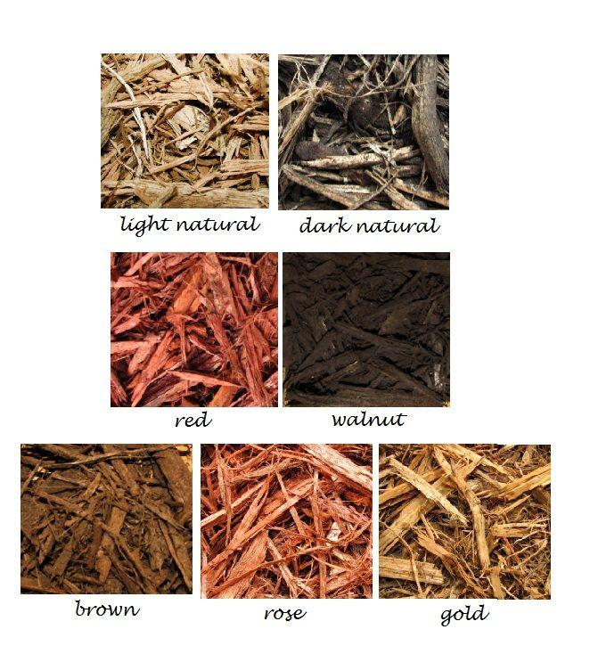 Colored Wood Mulch Thomas Wiedemeier Sawmill Ltd Wood Mulch Mulch Landscaping Ideas Diy Mulch