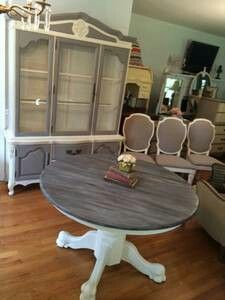 Limed Oak Claw Foot Pedestal Tabl E Restoration Hardware For The
