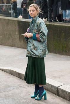 """Résultat de recherche d'images pour """"street style sac métallisé"""""""
