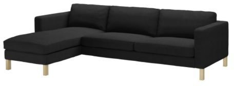 #Ikea #sofa #KARLSTAD #Sofa #chaise #lounge #Sivik #dark  sc 1 st  Pinterest : karlstad sofa and chaise lounge - Sectionals, Sofas & Couches
