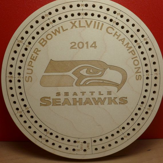 seatle seahawks cribbage board cribbage board etsy and seahawks