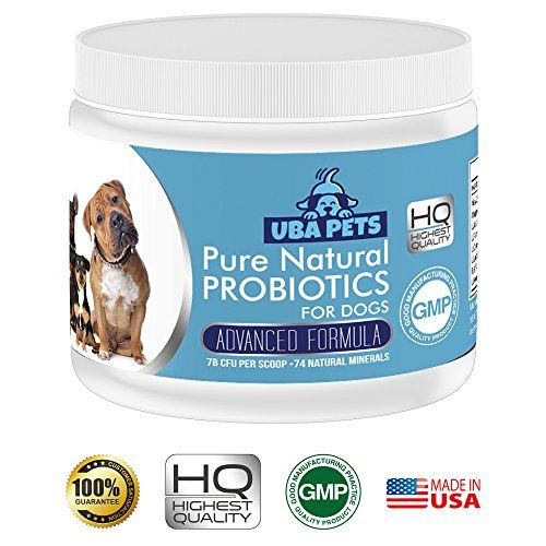 Uba Pets Probiotics For Dogs Daily Supplement Powder Relief From