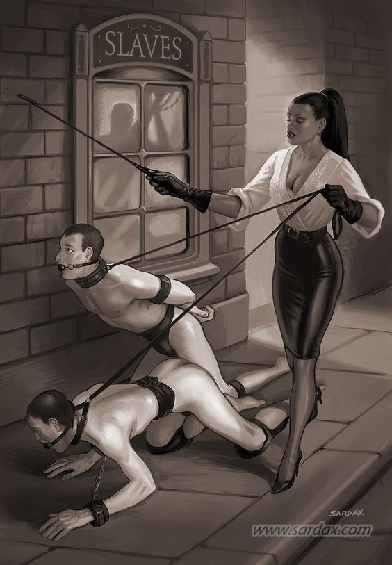 госпожа наказывает раба клизмой - 1
