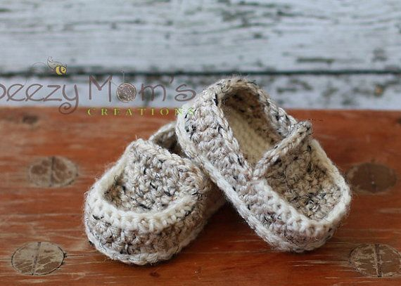 fe927efdb Download PDF crochet pattern b001 - Baby Loafers Booties