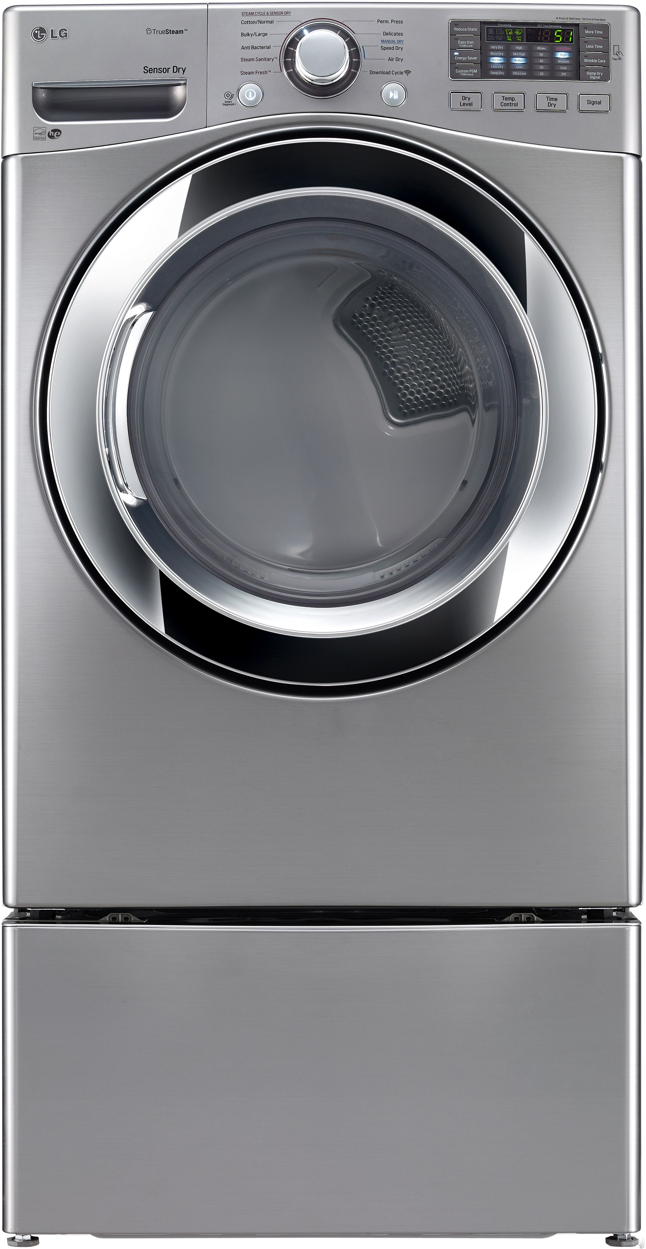 Lg Dlex3370v 27 Electric Dryer With 7 4 Cu Ft Capacity 10