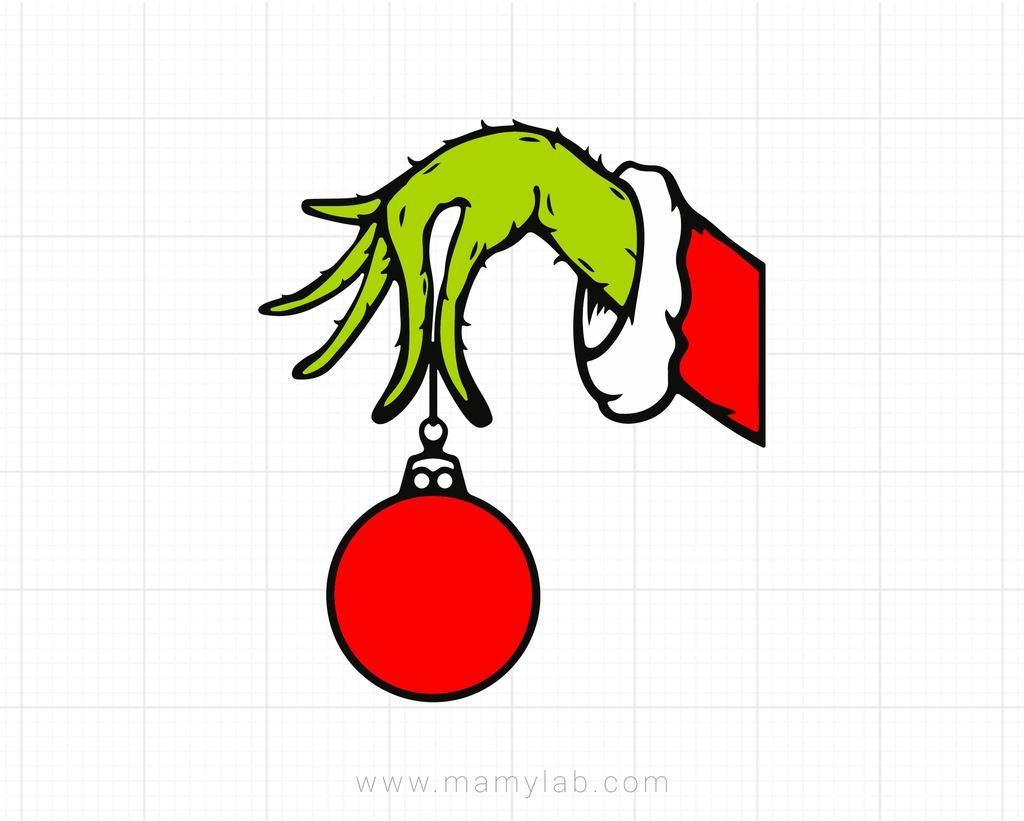 The Grinch Clipart The Grinch Hand Svg Grinch Hand Bauble Christmas 2020 Svg 2020 Stink Stank Stunk Grinch Drawing Grinch Images Grinch Hands