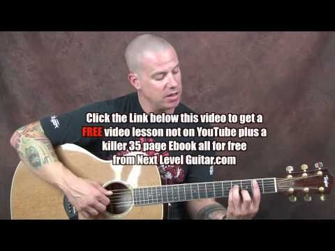 Acoustic Fingerstyle Guitar Lesson Brad Paisley Inspired Build