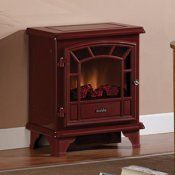 Duraflame 550 Cranberry Electric Fireplace Stove With Remote