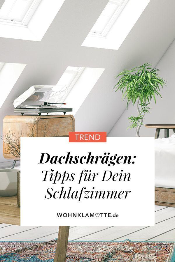 Schlafzimmer mit Dachschrägen optimal einrichten (mit