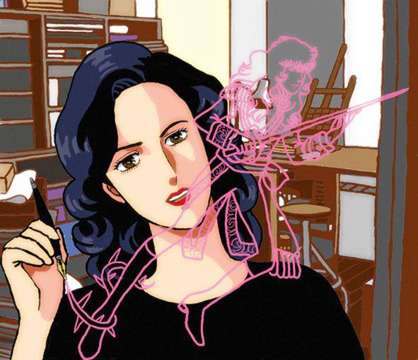 riyoko et oscar by Korin2b.deviantart.com on @DeviantArt