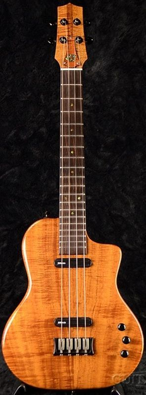 lardyfatboy: Ray Rapozo Island electric Baritone =Lardys Ukulele of the day - a year ago --- https://www.pinterest.com/lardyfatboy/