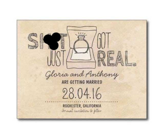 Funny And Ingenious Wedding Invitations (26 Pics) The Blended Fun - invitation wording for elopement party