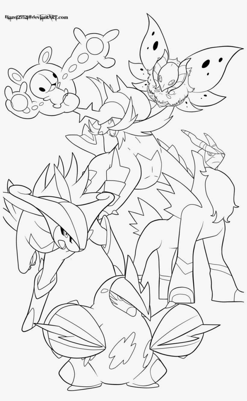 Scissor Pokemon Coloring Page Youngandtae Com Pokemon Coloring Pokemon Coloring Pages Giraffe Coloring Pages