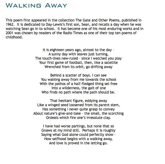 Pin By Dona Lewandowski On Shake Day Lewis Poem A Day Poetry