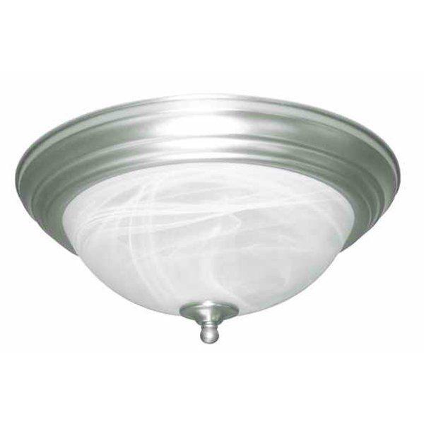 Shop amlite lighting fm 600 del mar 2 light flush mount ceiling light at lowes canada