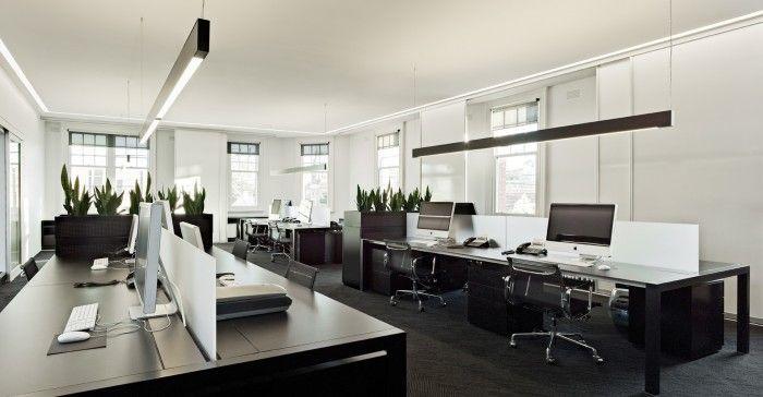 Office Tour Hoyne Design S Dark Elegant And Lovely Studio Modern Office Design Interior Design Awards Office Interior Design