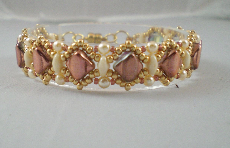 Handmade california princess silky bead bracelet high fashion