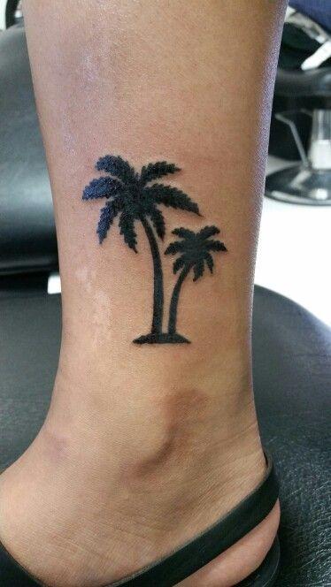Palm tree tattoo❤
