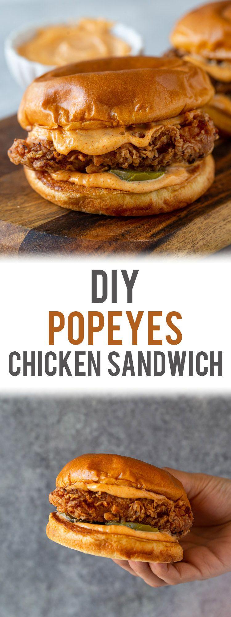 Photo of DIY Popeyes Chicken Sandwich