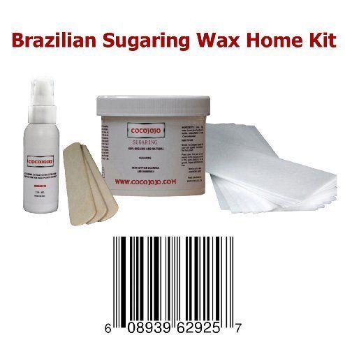 8 Oz Cocojojo Sugaring Brazilian Sugaring Wax Kit - Sugaring