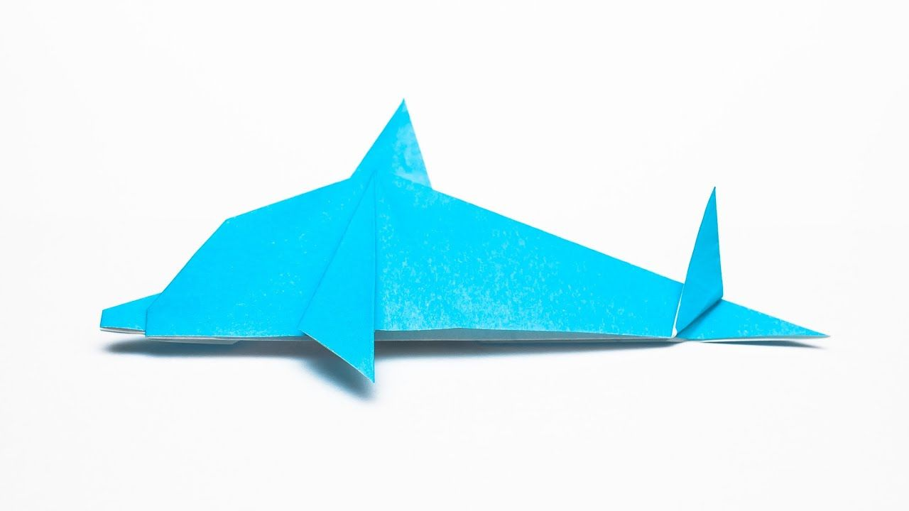 Photo of How to make an easy Origami Dolphin step by step