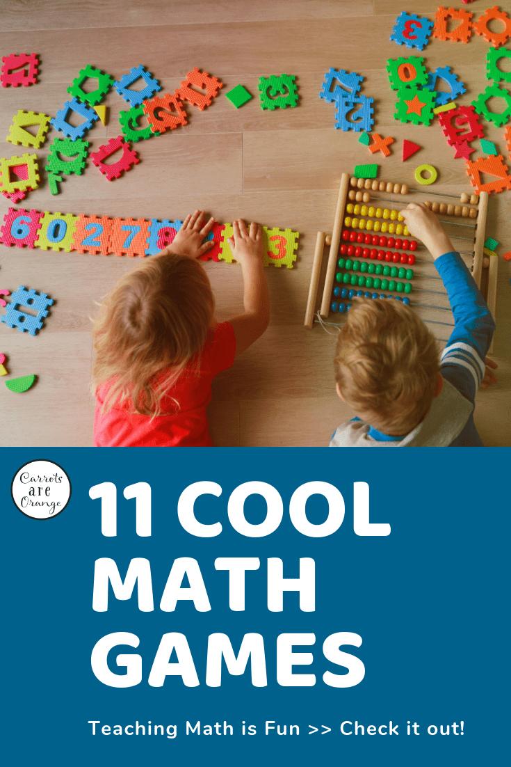 11 Cool Math Games Teaching Math is Fun Fun math games