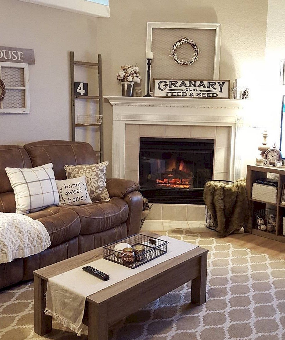 Beautiful Condo Living Rooms: 10 Beautiful Living Room Home Decor That Cozy And Rustic