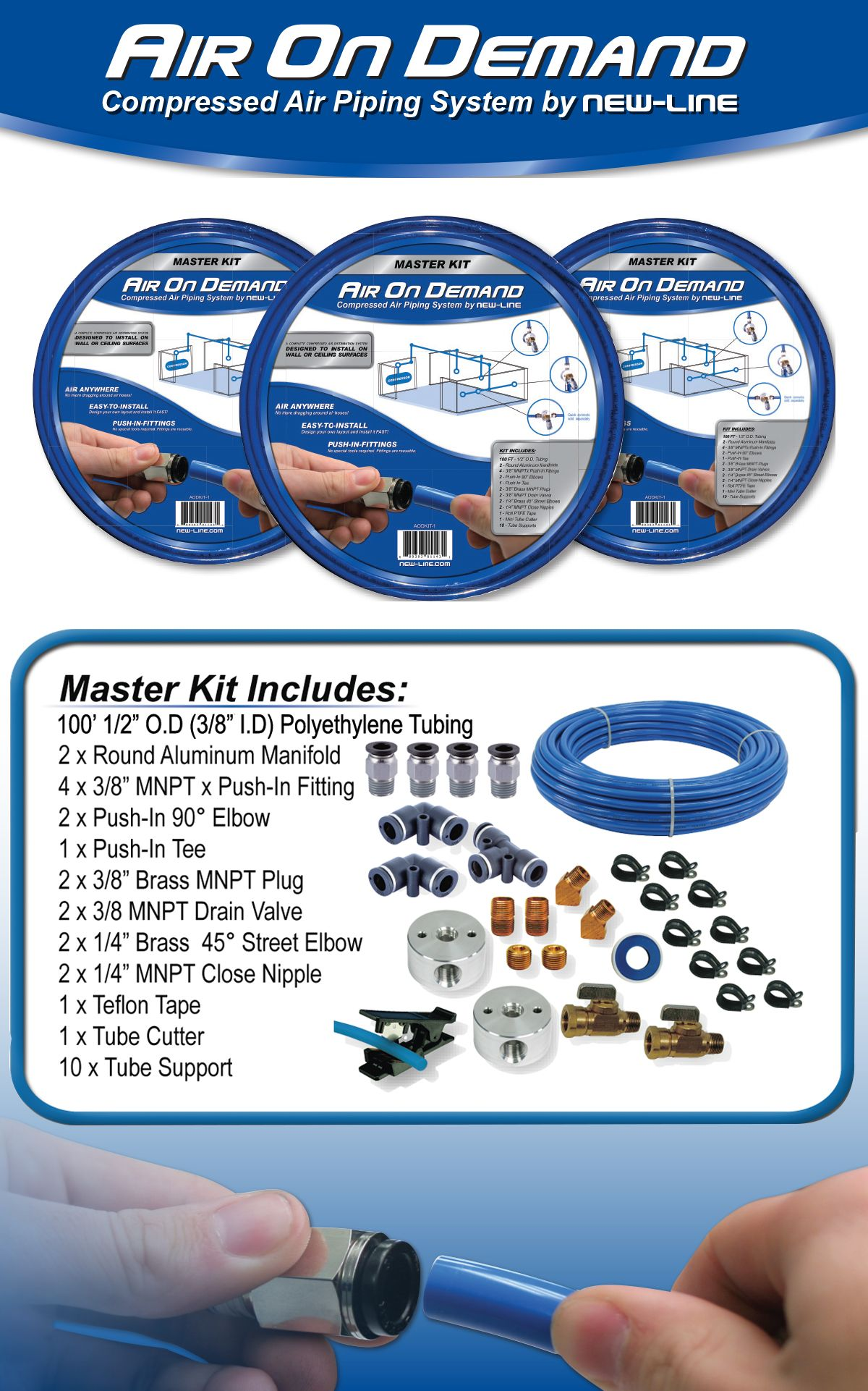 AirOnDemand Complete Master Kit in 2020 Service kits