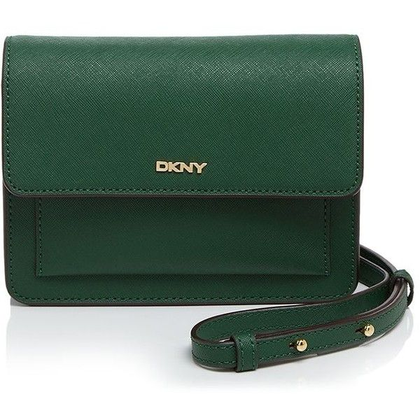 Dkny Bryant Park Saffiano Crossbody ($185) ❤ liked on Polyvore featuring  bags, handbags