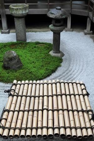 The Zen garden in Ryousokuin temple in Kenninji #japan #kyoto by SAburns