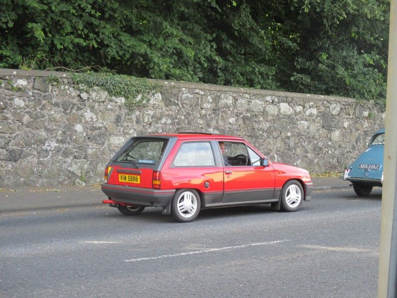 Vauxhall Nova SRI at Garvagh vintage rally 2015. My first car was a ...