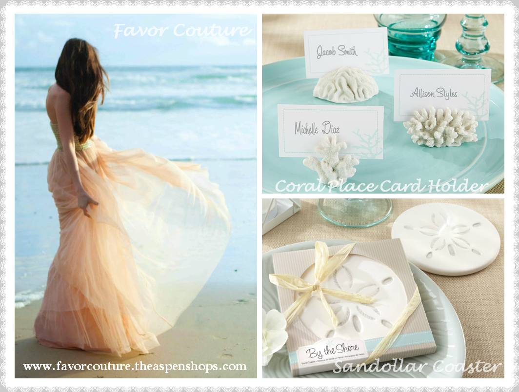 beach #summer #wedding #favors \