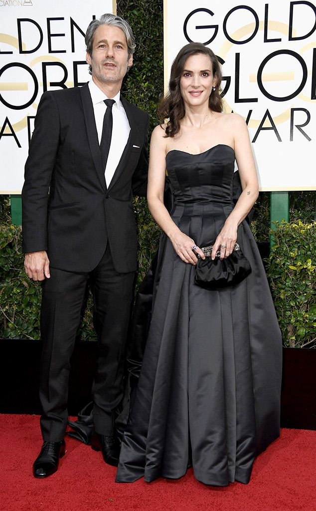 Scott Mackinlay Hahn Winona Ryder From 2017 Golden Globes Red Carpet Couples The Stranger Things Actr Red Carpet Couples Golden Globes 2017 Celebrity Stars