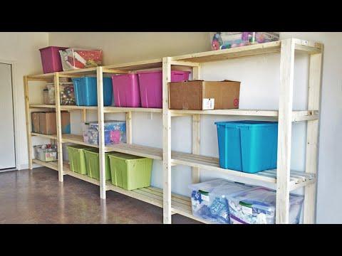 DIY Garage Shelves [Freestanding] Ana White in 2020