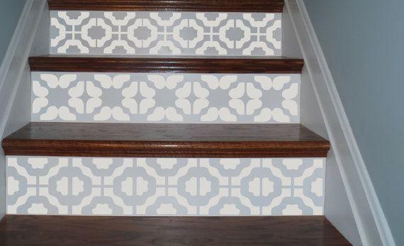 Escaliers Et Contremarche Decorative Treppenhaus Dekorieren