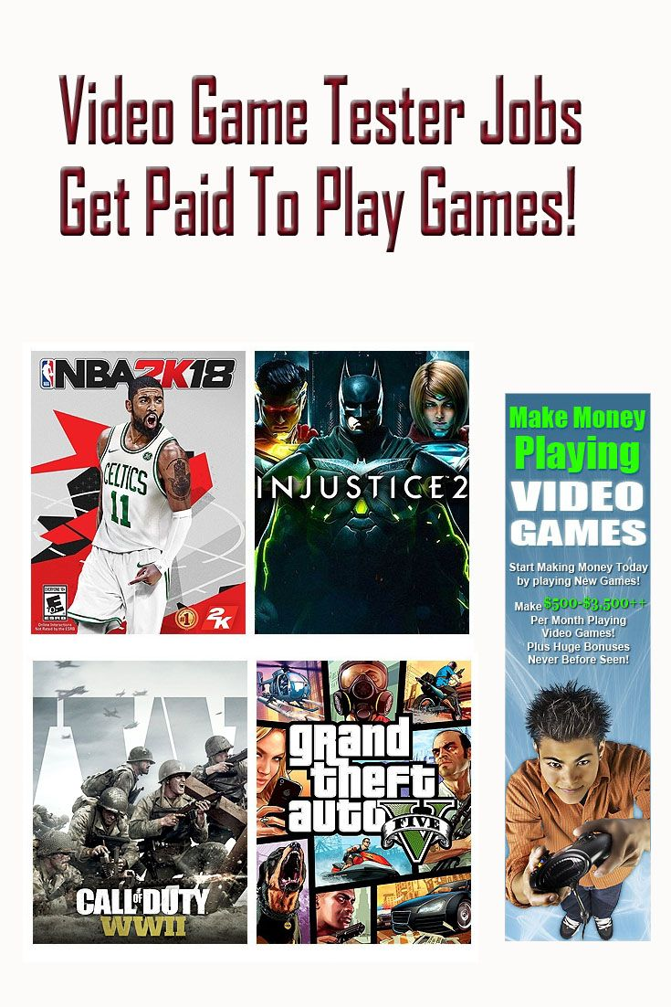 Video Game Tester Jobs Get Paid To Play Games / Get New